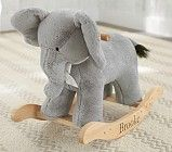 Elephant Plush Rocker | Pottery Barn Kids