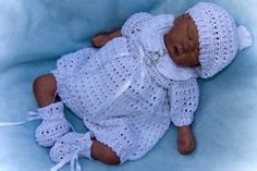 Baby Burial Gown Patterns | Crochet Patterns For Preemies – Free Crochet Patterns