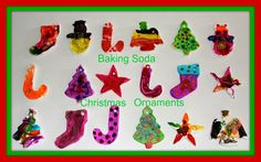 Four Little Piglets: BAKING SODA CHRISTMAS ORNAMENTS