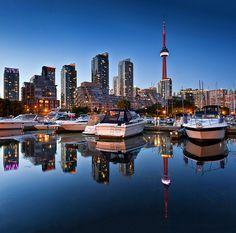 Spadina Quay Marina,Toronto, Ontario, Canada