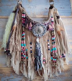 New native american style fringe bag from AlisoBay