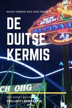 Wist je dat de Duitse kermis een gigantisch volksfeest is? Heel anders dan kermissen in Nederland: muziek, gezelligheid, eten en drinken en heel veel attracties. Bezoek bijvoorbeeld de kirmes in Dusseldorf. Leuk uitje voor het hele gezin, of met vrienden! Tijdens je vakantie of voor een dagtrip. Disneyland, Comic Books, Places, Cover, Travel, Viajes, Destinations, Cartoons, Traveling
