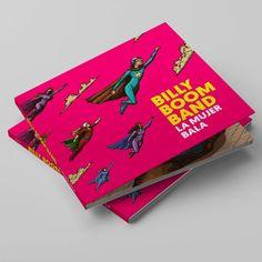 Ilustraciones para el CD-DVD del grupo musical Billy Boom Band Musical, Tattoo, Cover, Illustration, Books, Prints, Art, Group, Illustrations