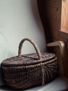 a pretty basket made from willow by Joanne B Kaar