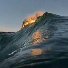 Ideas Photography Summer Beach Underwater For 2019 Beautiful Ocean, Amazing Nature, Beautiful World, Beautiful Places, No Wave, Ocean Video, Ocean Gif, The Ocean, Sky Aesthetic