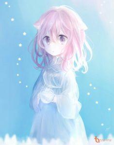 Popular hair ideas you can try! Anime Girl Pink, Anime Girl Cute, Beautiful Anime Girl, Kawaii Anime Girl, Anime Art Girl, Manga Girl, Anime Neko, Chica Anime Manga, Anime Angel