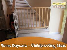 Home Daycare-Childproofing Ideas