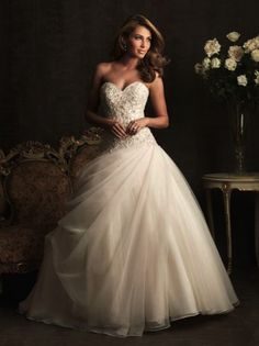 sweetheart ball gown wedding dress sparking detail corset tulle romantic princess