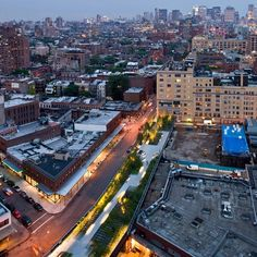 View Of The High Line NY