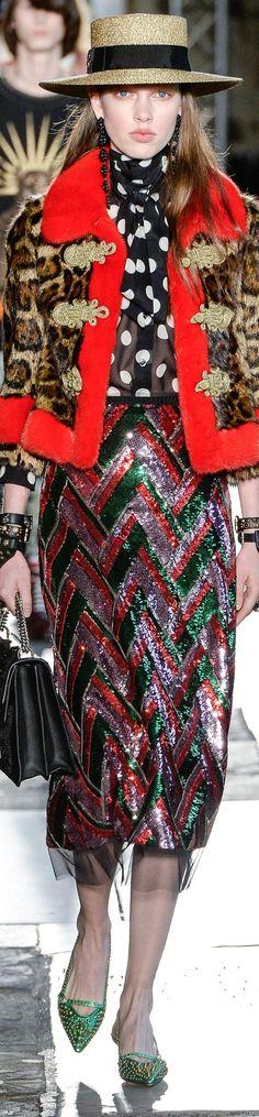 Gucci resort 2017 vogue