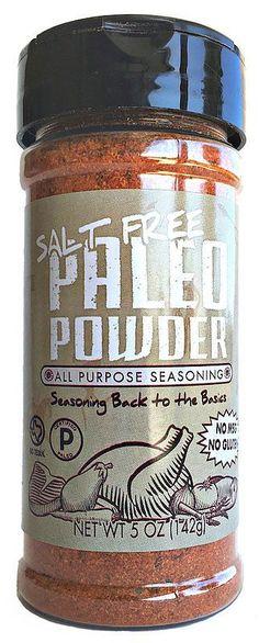 paleo powder seasoning certified paleo #certifiedpaleo #paleo