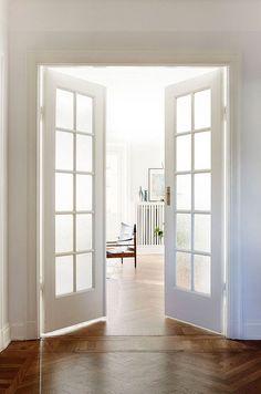 DOORS!!!! Another idea (instead of sliding) for the bedroom door.