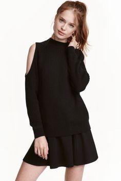 Cold-shoulder sweater | H & M
