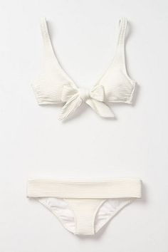 Just bought! Anthropologie Loures Bow Bikini