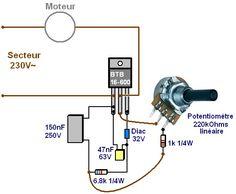 variateur de vitesse moteur 230v 16a realisation 0