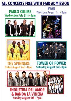 2013 Solano County Fair Concerts