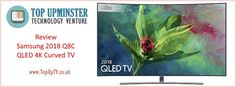 If you're looking to purchase a brand new QLED this year, then better check out the Samsung 2018 Curved TV. Considered as the best valued curved TV, Tv Accessories, Best Tv, Budget, Samsung, Technology, Books, Tech, Libros, Book