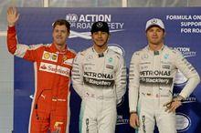 予選後トップ3会見--フェラーリはどこまで迫れる?!