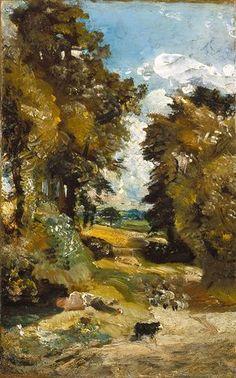 The Cornfield - John Constable