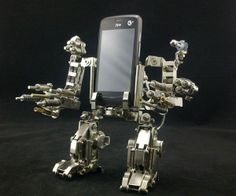 Mechwarrior Cellphone Holder