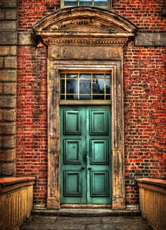 Stately door at Dublin Castle by sbox