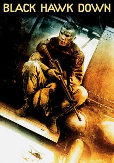 Black Hawk Down  Based on a true story, U.S. Rangers and an elite Delta Force team attempt to kidnap two underlings of a Somali warlord, their Black Hawk helicopters are shot down, and the Americans face intense combat with the militia on the ground.
