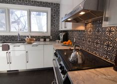 Kitchen Superwhite granite countertops