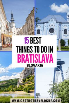 Visiting Bratislava? Here are the best things to do in Bratislava Slovakia| Things to do in Bratislava | Bratislava Slovakia things to do | Bratislava things to do | best things to do in Bratislava | Top things to do in Bratislava| Bratislava day trip #gastrotravelogue #travel #bratislava #slovakia