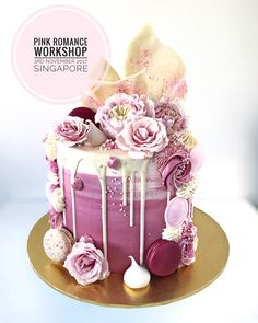 "1,144 Likes, 6 Comments - Lottie & Belle (@lottieandbelle) on Instagram: ""Pink Romance Workshop in Singapore 3rd November 2017 Please contact @butterstudio for bookings!"""
