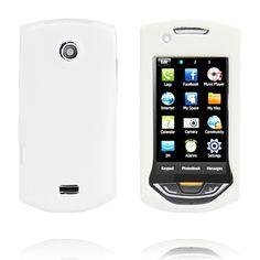 Hard Shell Snap-On (Hvit) Samsung S5620 Monte Deksel