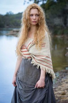Myanna Buring; Especially as Elizabeth Quinn in Banished (pictured) and Long Susan in Ripper Street
