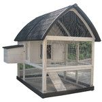 <strong>Coops & Feathers™ Country Chicken Coop</strong> by Innovation Pet