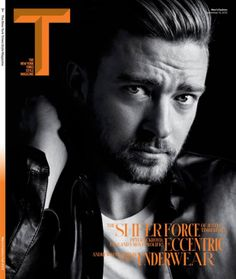 justin timberlake t magazine september