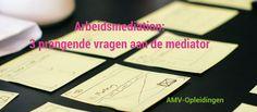 Arbeidsmediation - AMV-Opleidingen