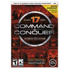 Command and Conquer : The Ultimate Collection - Electronic Software Download (PC)