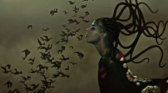 Wangechi Mutu, The End of Eating Everything (video still), 2013. Courtesy the artist