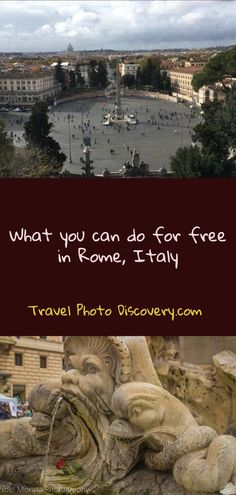 What you can do for Free in Rome Italy