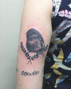 """52 Likes, 5 Comments - Arnaldo Lauer (@arnaldolauer) on Instagram: """"Passarin de hoje, muito obrigado por mais essa @mahribevi ! #birdtattoo #tattoo2me…"""""""