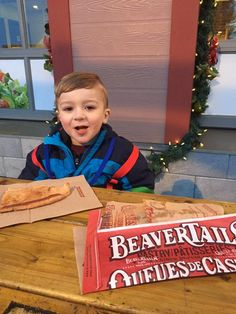 The sweetest weekend warrior we ever did see :) #BeaverTails via Nick Amsen on Twitter
