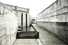 Brion-Vega Cemetery  Carlo Scarpa. San Vito d'Altivole, Italy. 1972. Photograph: Scott Maclemore
