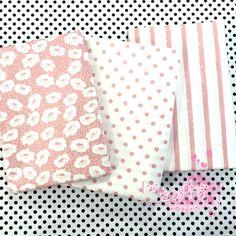¡ NUEVO! 3 unids rosa fat quarter bundle 100% Tela de Algodón para Patchwork quilting Tilda Muñeca de DIY de Coser Textiles Tela Tela 50*40 cm