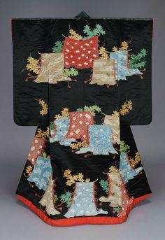 Uchikake wedding kimono, Edo period, 19th century, Japan ~~~AmyLH~~~