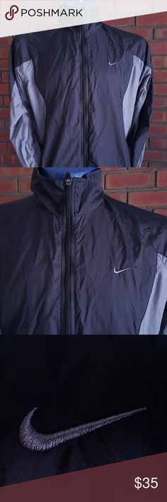 Nike Windbreaker Size L This item is virtually brand new, without the tags. There were no major flaws after my analyzation, nor minor flaws. Nike Sweaters Zip Up