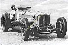 mr030 MOTOR RACING 1920s Sunbeam Tiger Campbell Brooklands motorsport ...