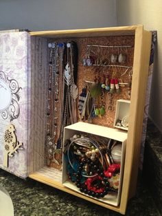 Read all about it: Make a rockin' jewelry box from a repurposed hardcover book.
