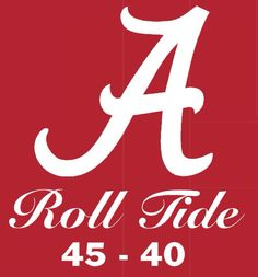 Alabama 45 Clemson 40  - 2015 Year in Review from the  1-21-16 Jasper, AL's Daily Mountain Eagle - back cover #Alabama #RollTide #BuiltByBama #Bama #BamaNation #CrimsonTide #RTR #Tide #RammerJammer #NationalChampions