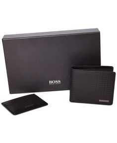 9e795bbbc294 Hugo Boss 'Greno' Wallet Gift Box & Reviews - All Accessories - Men - Macy's