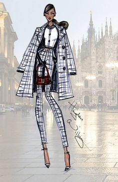 desenho fashion