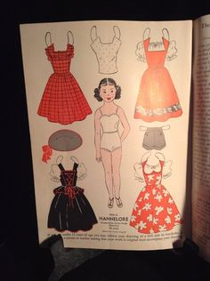 Hannelore 1953 Wee Wisdom from Ebay * 1500 free paper dolls Christmas gifts artist Arielle Gabriels The International Paper Doll Society also free paper dolls The China Adventures of Arielle Gabriel *