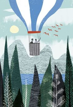 Folio illustration agency, London, UK | Sam Kalda - Illustrator
